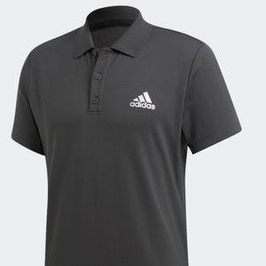 New adidas Club Rib Polo Shirt Tennis Climalite